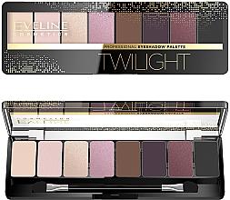 Voňavky, Parfémy, kozmetika Paleta tieňov na viečka - Eveline Cosmetics Eyeshadow