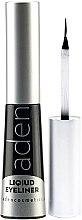 Voňavky, Parfémy, kozmetika Očná linka vodeodolná - Aden Cosmetics Liquid Eyeliner