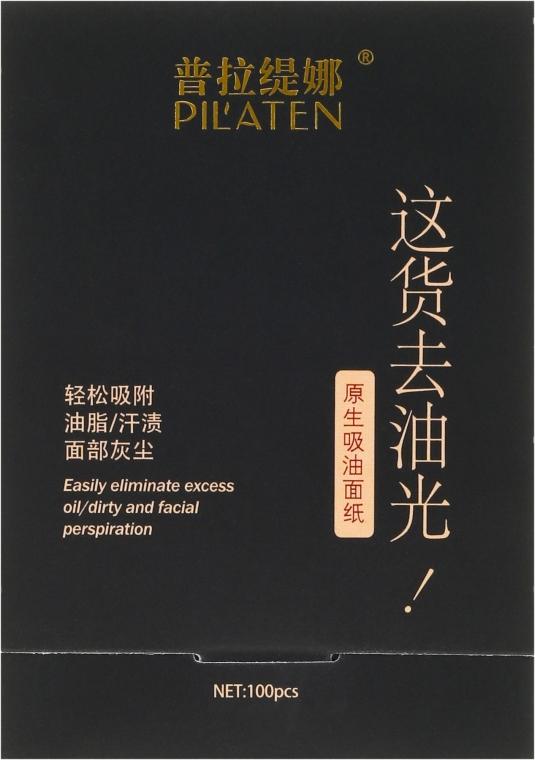 Matujúce obrúsky na tvár - Pil'aten Papeles Matificantes Native Blotting Paper