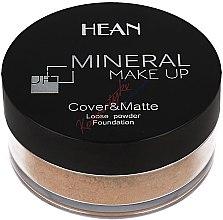 Voňavky, Parfémy, kozmetika Púder na tvár, minerálny - Hean Mineral Make Up Cover&Matte Loose Mineral Powder