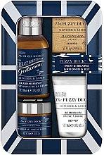 Voňavky, Parfémy, kozmetika Sada - Baylis & Harding Fuzzy Duck Men's Ginger & Lime (b/wax/50g + soap/25g + b/sh/100ml + balm/30ml)