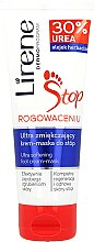 Voňavky, Parfémy, kozmetika Obnovujúca krém-maska na pleť stôp 2 v 1 - Lirene Stop Callusness Foot Cream-Mask
