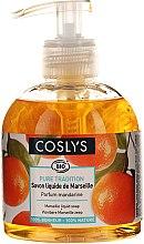 Voňavky, Parfémy, kozmetika Tekuté mydlo Savon De Marseille s organickým olivovým olejom a mandarínkou - Coslys Marselle soap Mandarin fragrance