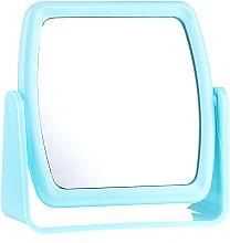 Voňavky, Parfémy, kozmetika Kozmetické zrkadlo 85727, štvorcové, modré - Top Choice Beauty Collection Mirror