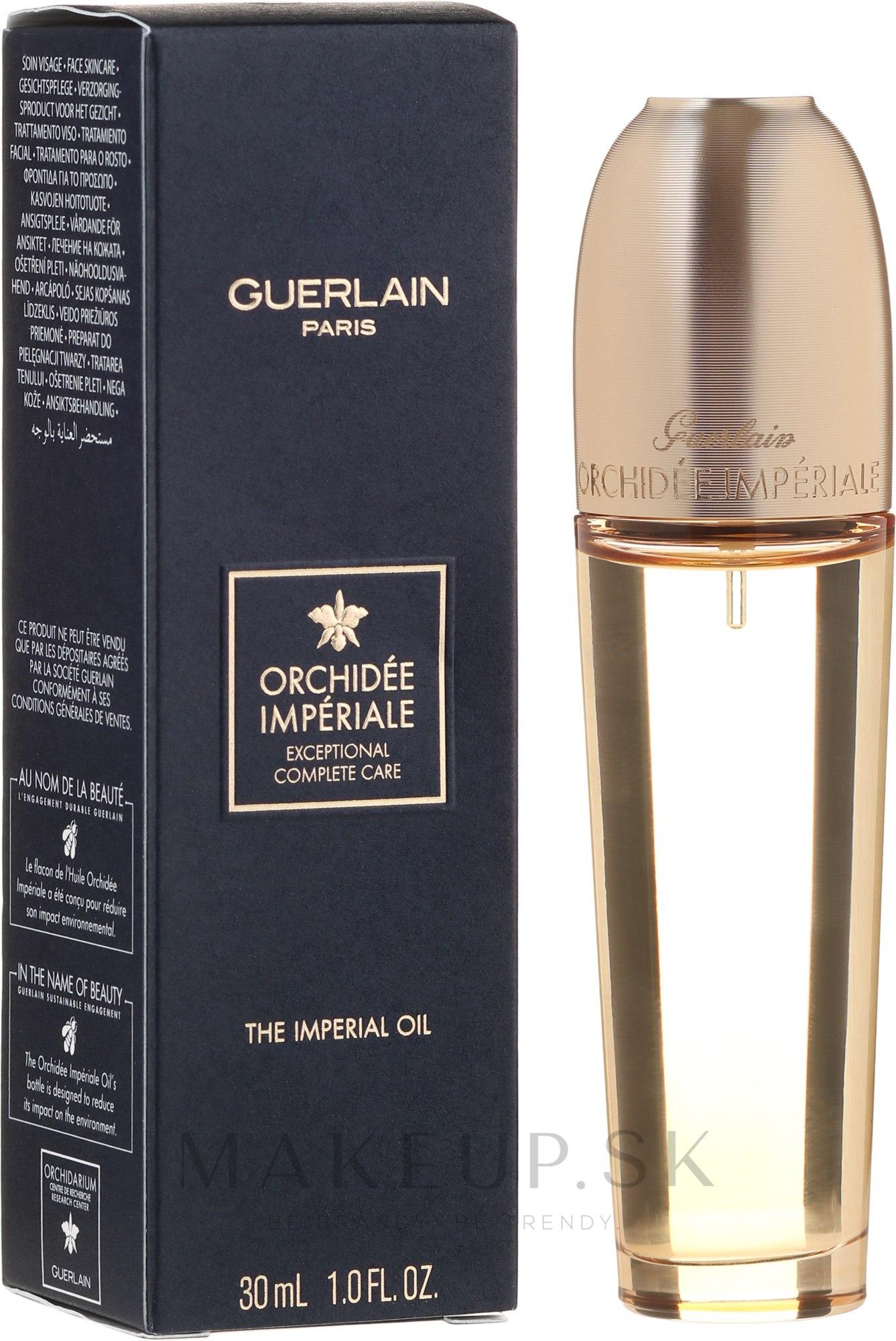 Kráľovský olej na tvár - Guerlain Orchidee Imperiale The Imperial Oil — Obrázky 30 ml