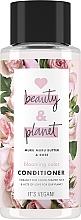 """Voňavky, Parfémy, kozmetika Kondicionér na vlasy """"Kvitnúca farba"""" - Love Beauty&Planet Muru Muru Butter & Rose Conditioner"""