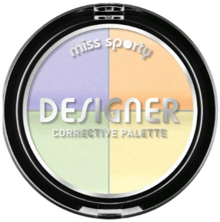 Korektor na tvár - Miss Sporty Designer Corrective Palette (001-Light)