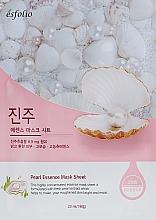 Voňavky, Parfémy, kozmetika Textilná maska s perleťovým extraktom - Esfolio Pearl Essence Mask Sheet