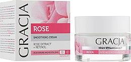 Voňavky, Parfémy, kozmetika Výživný krém pre tvár s ružovým extraktom - Gracja Rose Face Cream