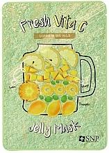 Voňavky, Parfémy, kozmetika Maska proti matnej pleti - SNP Fresh Vita C Jelly Mask