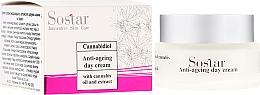 Voňavky, Parfémy, kozmetika Denný krém proti starnutiu s konopným extraktom - Sostar Cannabidiol Anti Ageing Day Cream With Cannabis Extract