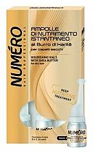 Voňavky, Parfémy, kozmetika Výživný prípravok na vlasy s bambuckým maslom - Brelil Numero Nourishing Vials For Hair With Shea Butter