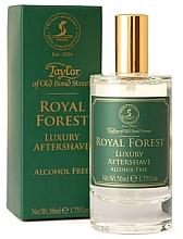 Voňavky, Parfémy, kozmetika Taylor of Old Bond Street Royal Forest Aftershave Lotion - Lotion po holení