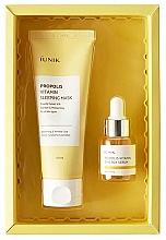 Voňavky, Parfémy, kozmetika Sada - iUNIK Propolis Edition Skin Care Set (mask/60ml + ser/15ml)