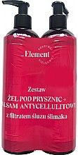 Voňavky, Parfémy, kozmetika Sada - _Element Snail Slime Filtrate (sh/gel/150ml+b/balm/150ml)