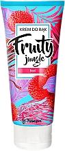 """Voňavky, Parfémy, kozmetika Krém na ruky """"Liči"""" - Farmapol Fruity Jungle Hand Cream"""
