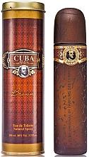 Voňavky, Parfémy, kozmetika Cuba Brown - Toaletná voda