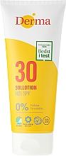 Voňavky, Parfémy, kozmetika Mlieko na opaľovanie - Derma Sun Lotion SPF30