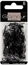 Voňavky, Parfémy, kozmetika Gumičky do vlasov, 0261, čierne - Glamour