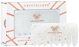 Voňavky, Parfémy, kozmetika Transparentný kremenný hrebeň - Crystallove Clear Quartz Comb