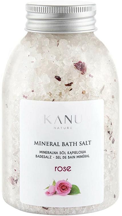 "Minerálna soľ do kúpeľa ""Ruža"" - Kanu Nature Rose Mineral Bath Salt"