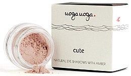 Voňavky, Parfémy, kozmetika Prírodné jantárové očné tiene - Uoga Uoga Natural Eye Shadow With Amber