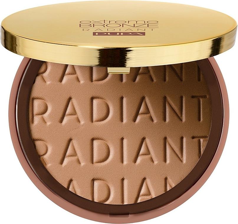 Bronzujúci púder na tvár - Pupa Extreme Bronze Radiant Powder