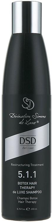 """Šampón """"Botox""""č. 5.1.1 - Simone DSD de Luxe Botox Hair Therapy de Luxe Shampoo — Obrázky N1"""