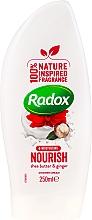 Voňavky, Parfémy, kozmetika Sprchový krémový gél - Radox Moisturising Nourish Shea Butter & Ginger Shower Cream