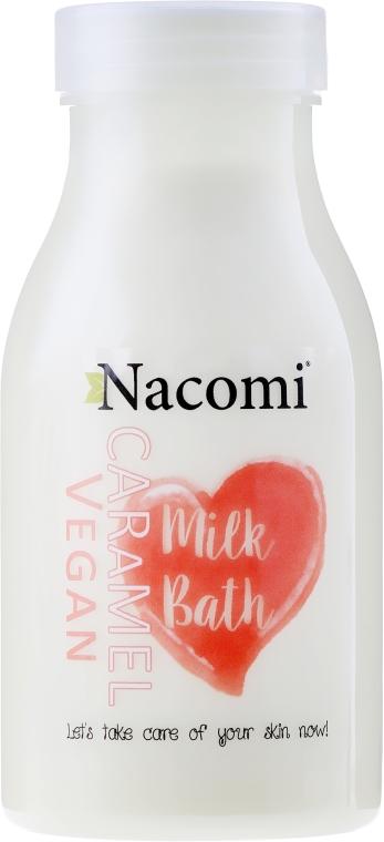 "Kúpeľové mlieko ""Caramel"" - Nacomi Milk Bath Caramel"