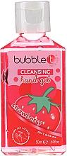 """Voňavky, Parfémy, kozmetika Antibakteriálny čistiaci gél na ruky """"Jahoda"""" - Bubble T Cleansing Hand Gel Strawberry"""