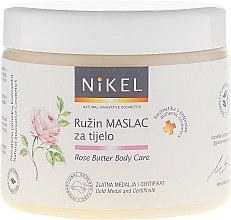 Voňavky, Parfémy, kozmetika Telový olej s ruží - Nikel Rose Butter