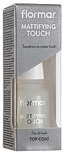 Voňavky, Parfémy, kozmetika Matný vrchný lak na nechty - Flormar Matifying Touch