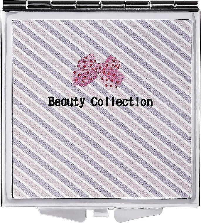 Vreckové zrkadlo 85604, 6 cm, pruhované - Top Choice Beauty Collection Mirror