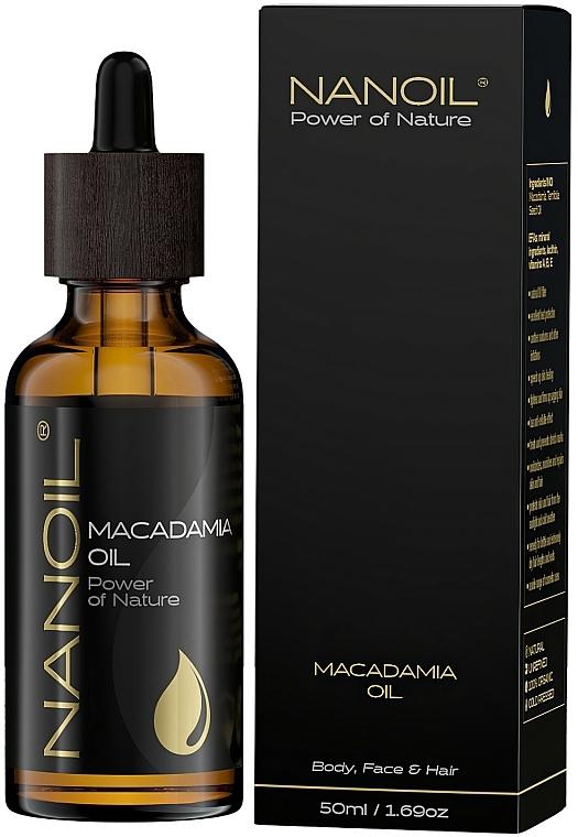 Makadamiový olej - Nanoil Body Face and Hair Macadamia Oil — Obrázky N2