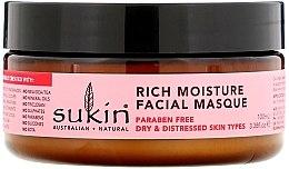 """Voňavky, Parfémy, kozmetika Intenzívna hydratačná maska na tvár """"Šípka"""" - Sukin Facial Masque"""