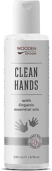 Dezinfekčný prostriedok na ruky a pokožku - Wooden Spoon Natural Clean Hands