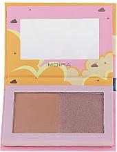 Voňavky, Parfémy, kozmetika Bronzer na tvár - Moira Golden Rays Bronzed Goddess Duo