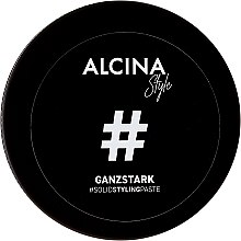 Voňavky, Parfémy, kozmetika Pasta na styling vlasov - Alcina Style Ganzstark