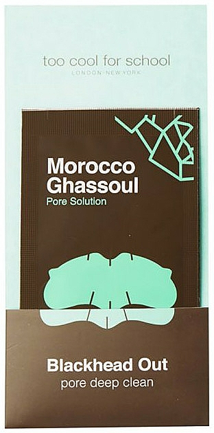 Čistiace prúžky na nos - Too Cool For School Morocco Ghassoul Blackhead Out — Obrázky N2
