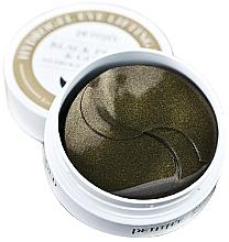 Voňavky, Parfémy, kozmetika Hydrogelové náplasti pod oči so zlatom a čiernymi perlami - Petitfee & Koelf Black Pearl&Gold Hydrogel Eye Patch