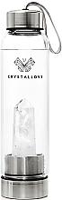 Voňavky, Parfémy, kozmetika Fľaša s krištáľom bieleho kremeňa, 500ml - Crystallove