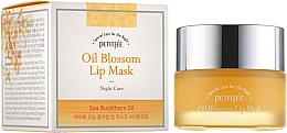 Voňavky, Parfémy, kozmetika Nočná maska na pery s vitamínom E a rakytníkovým olejom - Petitfee&Koelf Oil Blossom Lip Mask