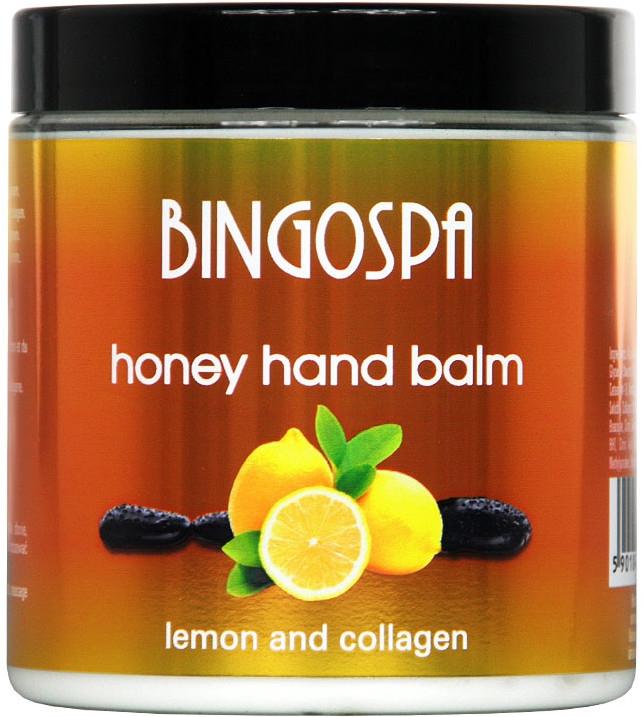 Balzam na ruky s medom a citrónom - BingoSpa — Obrázky N1