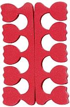 Voňavky, Parfémy, kozmetika Oddeľovače prstov v podobe tulipánu, červené - Peggy Sage