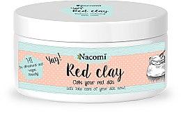 Voňavky, Parfémy, kozmetika Hlinová maska na tvár - Nacomi Red Clay
