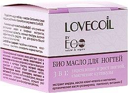 Voňavky, Parfémy, kozmetika Bio-olej na nechty 3 v 1 - ECO Laboratorie Lovecoil Nail Care Bio-Oil 3 in 1