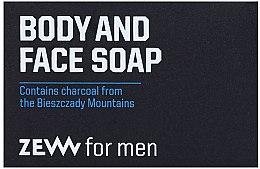 Voňavky, Parfémy, kozmetika Tvrdé mydlo na telo a tvár - Zew For Men Body And Face Soap