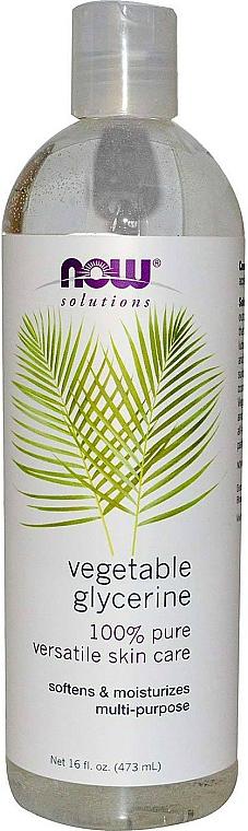 Rastlinný glycerín - Now Foods Solution Vegetable Glycerine