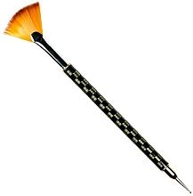 Voňavky, Parfémy, kozmetika Vejárový štetec na nechtový dizajn, RN 00487 - Ronney Professional Fan Brush